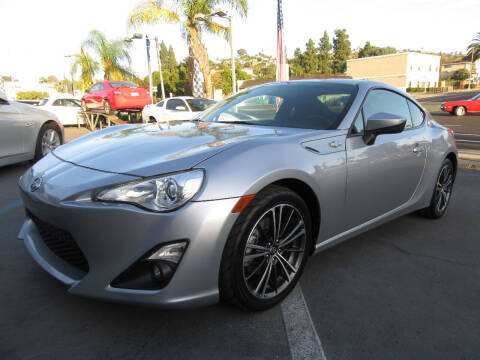 2015 Scion FR-S for sale at Eagle Auto in La Mesa CA