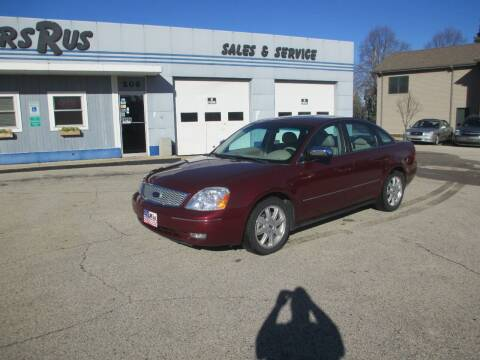 2005 Ford Five Hundred for sale at Cars R Us Sales & Service llc in Fond Du Lac WI