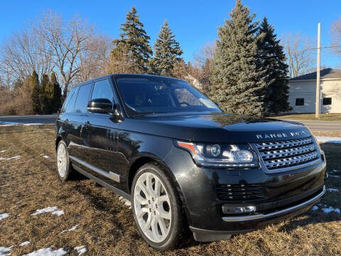 2017 Land Rover Range Rover for sale at A 1 Motors in Monroe MI