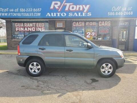 2009 Kia Sportage for sale at R Tony Auto Sales in Clinton Township MI