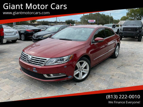 2015 Volkswagen CC for sale at Giant Motor Cars in Tampa FL