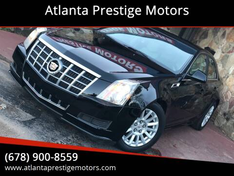 2012 Cadillac CTS for sale at Atlanta Prestige Motors in Decatur GA
