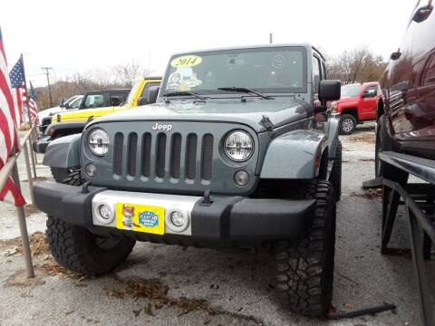 2014 Jeep Wrangler Unlimited for sale at Speedway Motors TX in Fort Worth TX