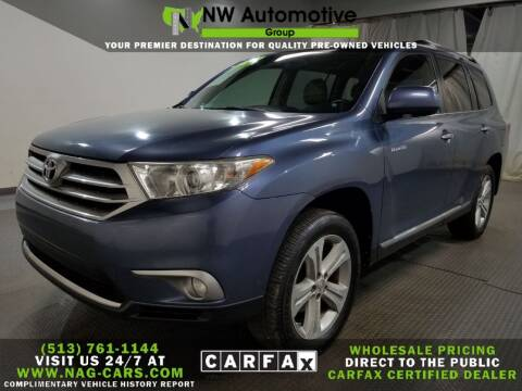 2013 Toyota Highlander for sale at NW Automotive Group in Cincinnati OH