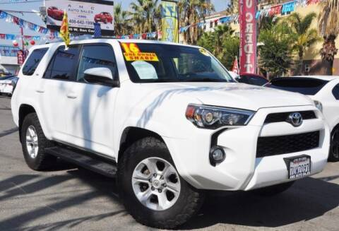 2016 Toyota 4Runner for sale at AMC Auto Sales, Inc in San Jose CA