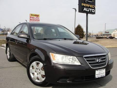 2009 Hyundai Sonata for sale at Perfect Auto in Manassas VA