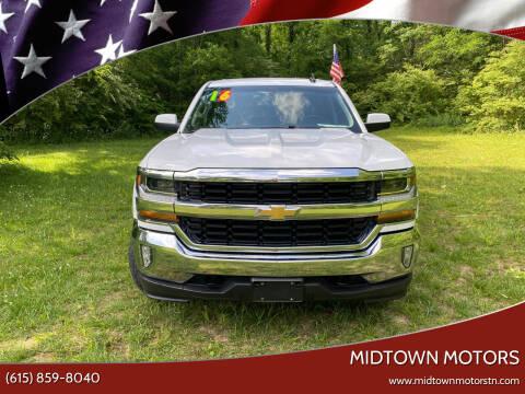2016 Chevrolet Silverado 1500 for sale at Midtown Motors in Greenbrier TN