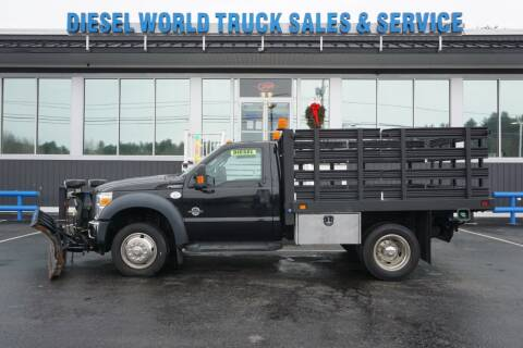 2015 Ford F-550 Super Duty for sale at Diesel World Truck Sales in Plaistow NH