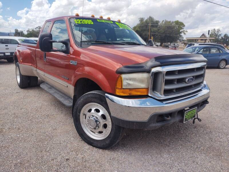 1999 Ford F-350 Super Duty for sale at Canyon View Auto Sales in Cedar City UT