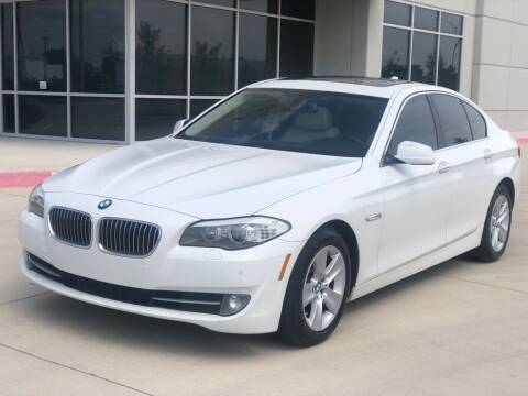 2013 BMW 5 Series for sale at Executive Auto Sales DFW LLC in Arlington TX