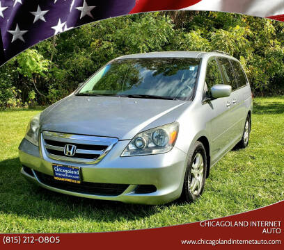 2006 Honda Odyssey for sale at Chicagoland Internet Auto - 410 N Vine St New Lenox IL, 60451 in New Lenox IL