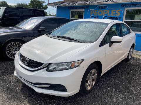2014 Honda Civic for sale at The Peoples Car Company in Jacksonville FL