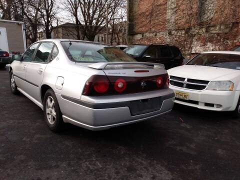 2003 Chevrolet Impala for sale at Brick City Affordable Cars in Newark NJ