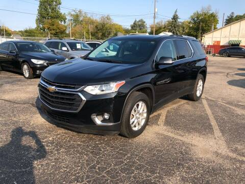2018 Chevrolet Traverse for sale at Dean's Auto Sales in Flint MI