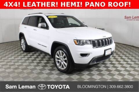 2017 Jeep Grand Cherokee for sale at Sam Leman Toyota Bloomington in Bloomington IL