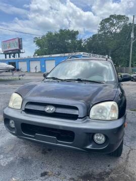 2005 Hyundai Santa Fe for sale at The Peoples Car Company in Jacksonville FL