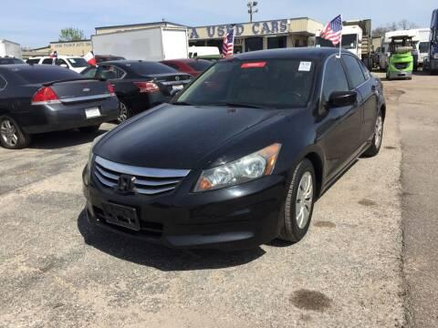 2011 Honda Accord for sale at BSA Used Cars in Pasadena TX