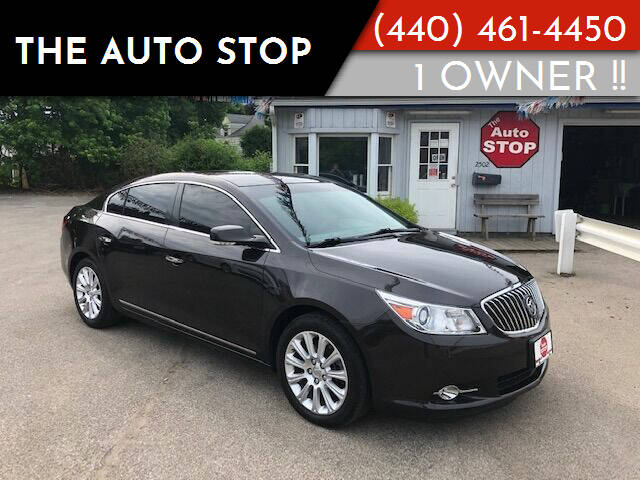 2013 Buick LaCrosse for sale at The Auto Stop in Painesville OH