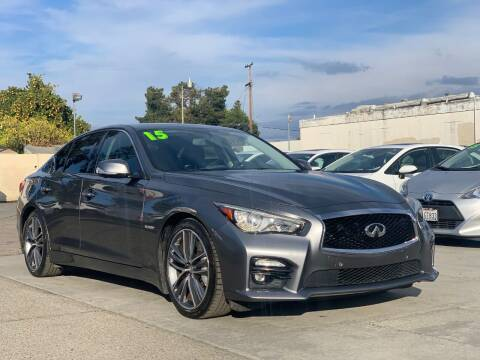 2015 Infiniti Q50 Hybrid for sale at H & K Auto Sales & Leasing in San Jose CA