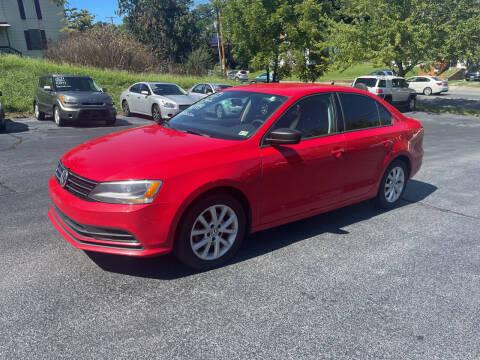 2015 Volkswagen Jetta for sale at KP'S Cars in Staunton VA