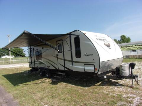 2016 Coachmen Travel Trailer Freedom Express for sale at ABC Auto Sales in Rogersville MO