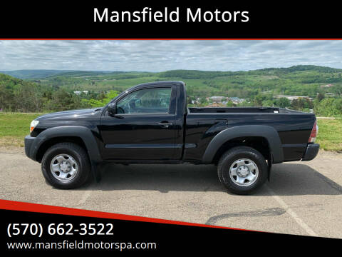 2011 Toyota Tacoma for sale at Mansfield Motors in Mansfield PA