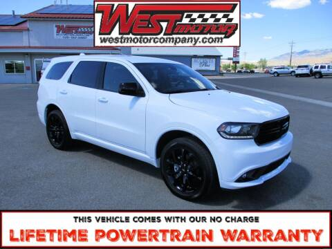 2020 Dodge Durango for sale at West Motor Company in Hyde Park UT