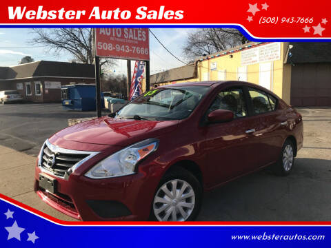 2015 Nissan Versa for sale at Webster Auto Sales in Webster MA
