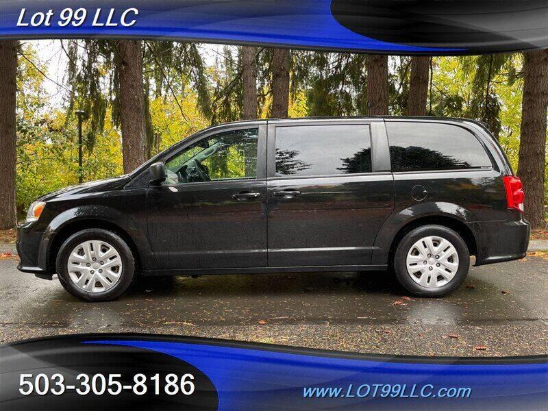 2018 Dodge Grand Caravan for sale at LOT 99 LLC in Milwaukie OR