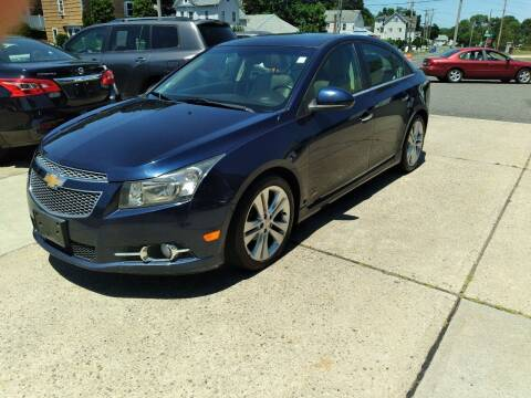 2011 Chevrolet Cruze for sale at Cammisa's Garage Inc in Shelton CT