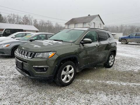 2018 Jeep Compass for sale at Brush & Palette Auto in Candor NY
