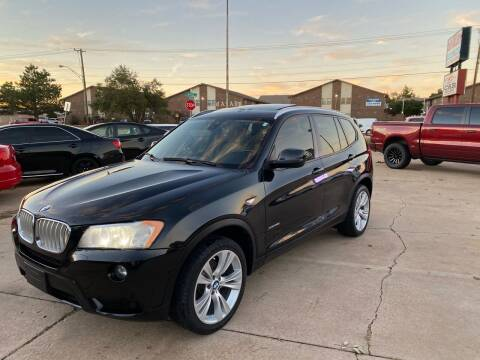 2014 BMW X3 for sale at Car Gallery in Oklahoma City OK