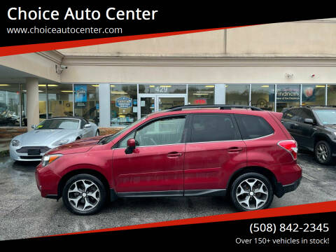 2014 Subaru Forester for sale at Choice Auto Center in Shrewsbury MA