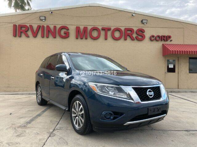 2014 Nissan Pathfinder for sale at Irving Motors Corp in San Antonio TX