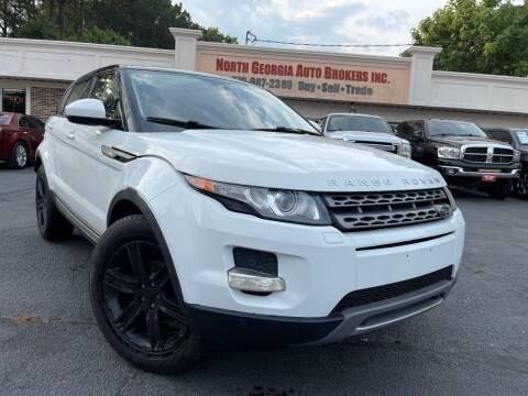 2015 Land Rover Range Rover Evoque for sale at North Georgia Auto Brokers in Snellville GA