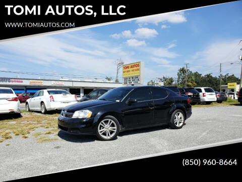 2012 Dodge Avenger for sale at TOMI AUTOS, LLC in Panama City FL