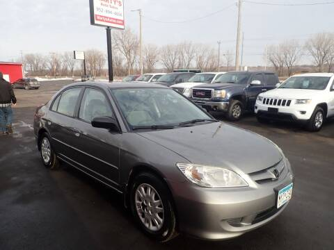 2004 Honda Civic for sale at Marty's Auto Sales in Savage MN
