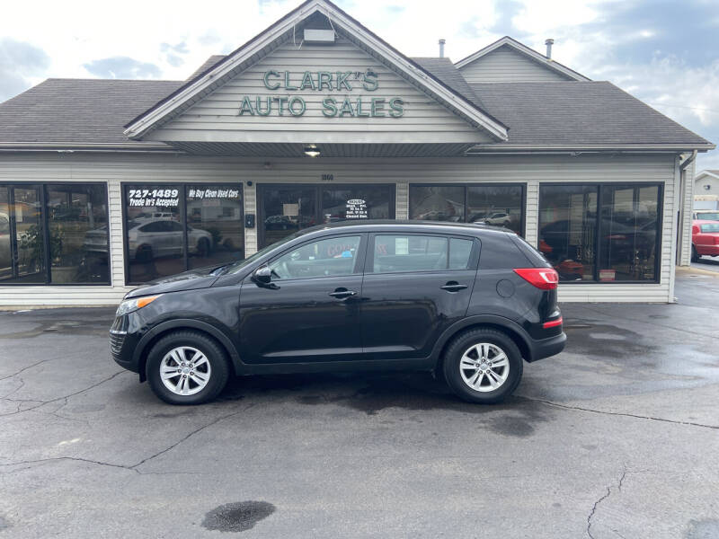 2011 Kia Sportage for sale at Clarks Auto Sales in Middletown OH