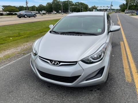 2014 Hyundai Elantra for sale at Double K Auto Sales in Baton Rouge LA