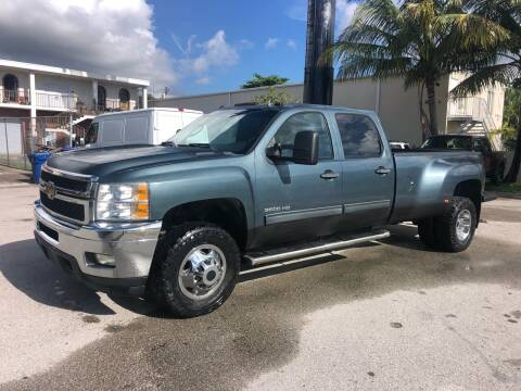 2012 Chevrolet Silverado 3500HD for sale at Florida Cool Cars in Fort Lauderdale FL