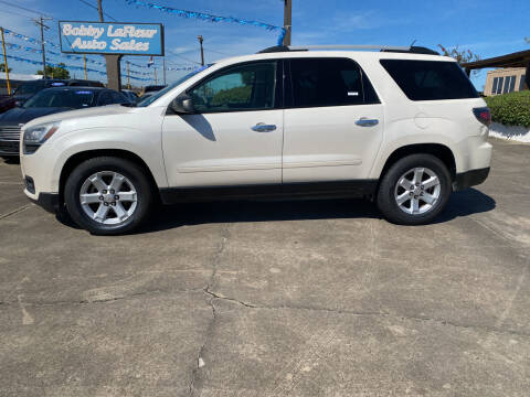 2013 GMC Acadia for sale at Bobby Lafleur Auto Sales in Lake Charles LA