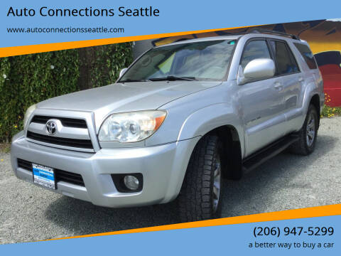 2007 Toyota 4Runner for sale at Auto Connections Seattle in Seattle WA
