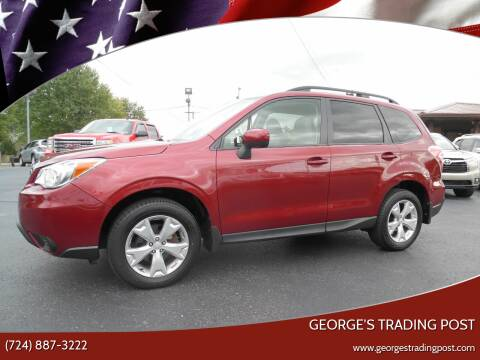 2016 Subaru Forester for sale at GEORGE'S TRADING POST in Scottdale PA