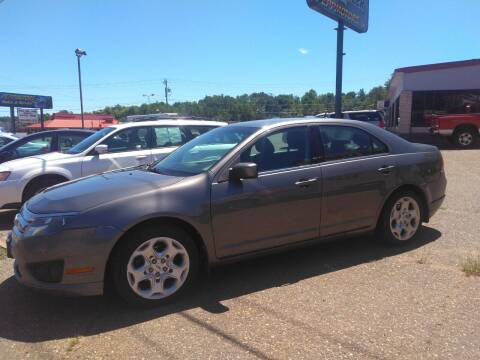 2011 Ford Fusion for sale at Pepp Motors in Marquette MI