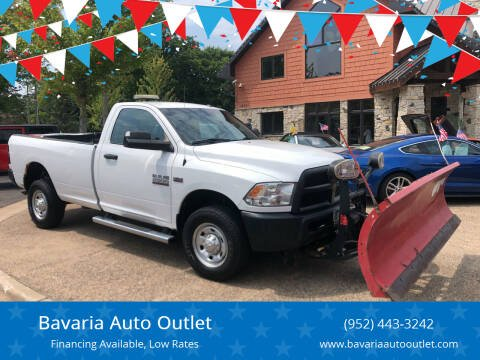 2015 RAM Ram Pickup 2500 for sale at Bavaria Auto Outlet in Victoria MN
