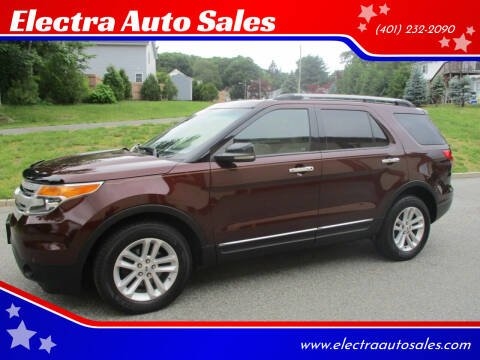 2012 Ford Explorer for sale at Electra Auto Sales in Johnston RI