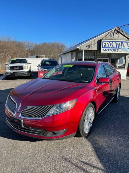 2016 Lincoln MKS for sale at Frontline Motors Inc in Chicopee MA