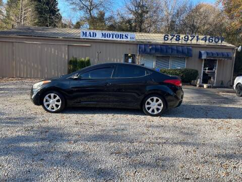 2013 Hyundai Elantra for sale at Mad Motors LLC in Gainesville GA