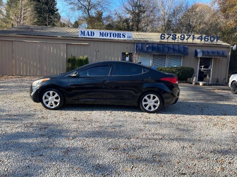 2013 Hyundai Elantra for sale at Mad Motors LLC in Gainesville GA