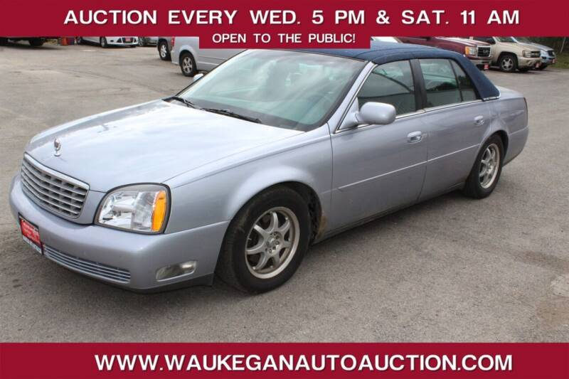 2004 Cadillac DeVille for sale at Waukegan Auto Auction in Waukegan IL